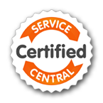 service central certified logo
